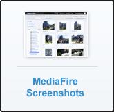 MediaFire Screenshots